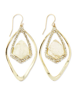 Alexis Bittar Orbiting Labradorite Hook Earrings