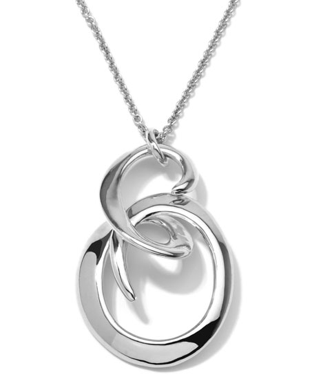 Sterling Silver Swirl Pendant Necklace