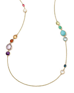 Ippolita 18k Long Multi-Stone Gelato Necklace