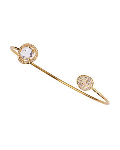 Tai Clear Stone Pinch Bracelet