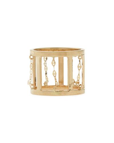 Lana Dash 14-Karat Gold Ring