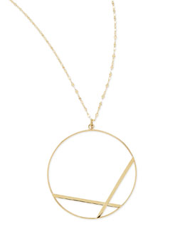 Lana 14k Large Affinity Pendant Necklace