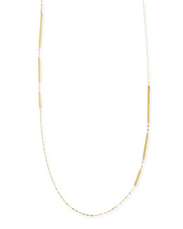 Lana 14k Gold Dash Layer Necklace