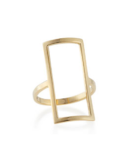 Lana 14k Yellow Gold Chime Ring