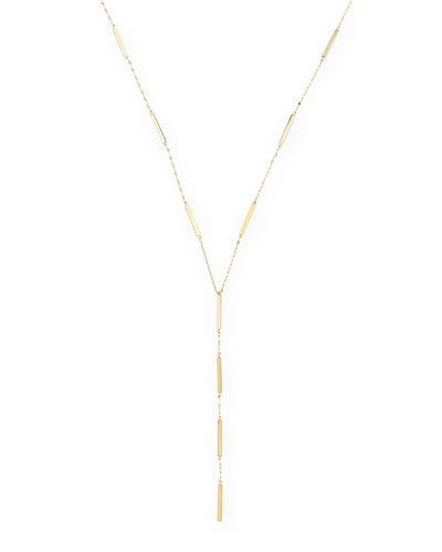 Lana 14k Dash Lariat Necklace