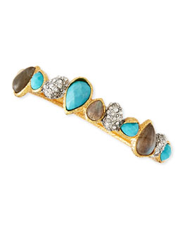Alexis Bittar Turquoise Crystal Bracelet
