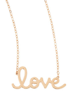 Sydney Evan 14k Rose Gold Pure Love Necklace