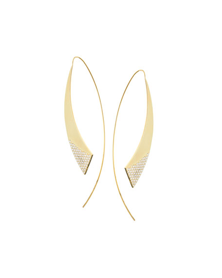 Large 14K Flawless Glossed Hooked on Hoops Earrings