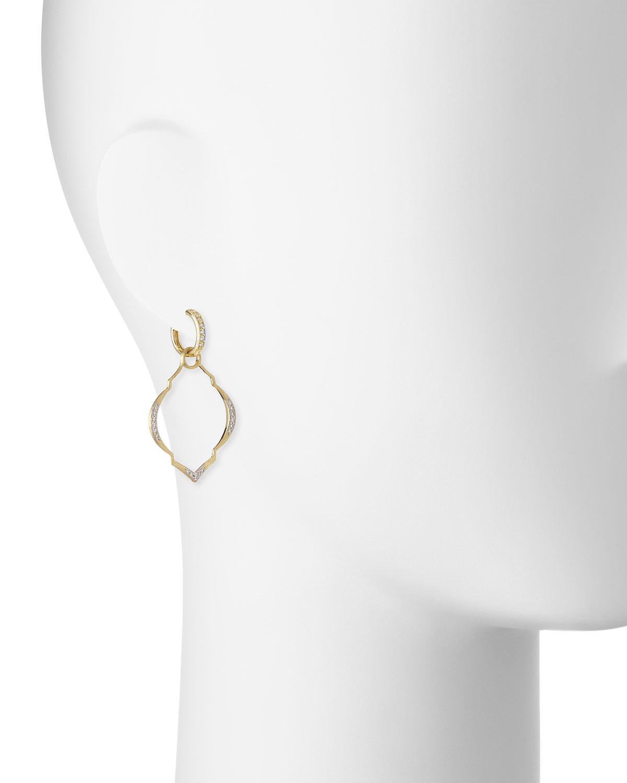 Jude Frances Casablanca Moroccan Earring Charms with Diamonds tIOmBXxr