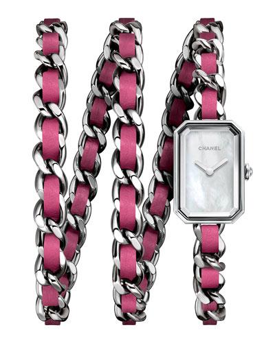 Sterling Silver Rock Pop Pink Watch
