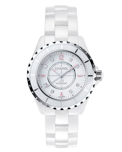 J12 Pinklight 38mm Ceramic and Steel Watch