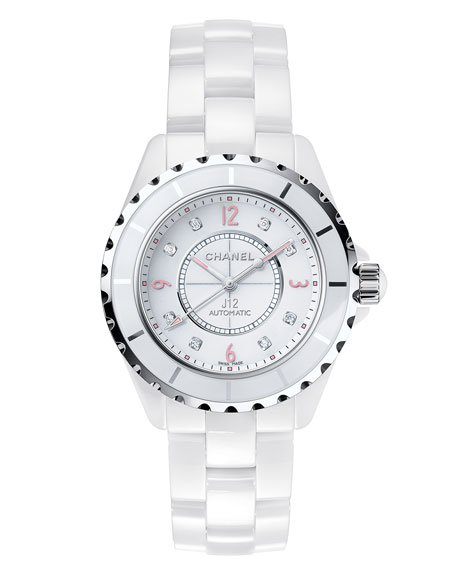 J12 Pinklight 38mm Ceramic and Steel Watch