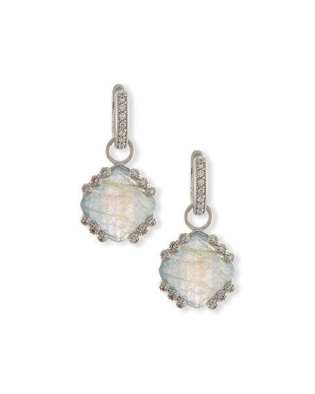 Jude Frances Labradorite & Blue Topaz Earring Charms