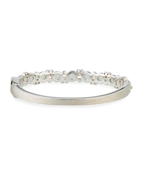 Encore Provence Round Labradorite & Quartz Bangle with Diamonds