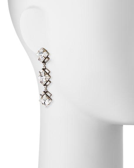 Dylan Crystal Drop Earrings