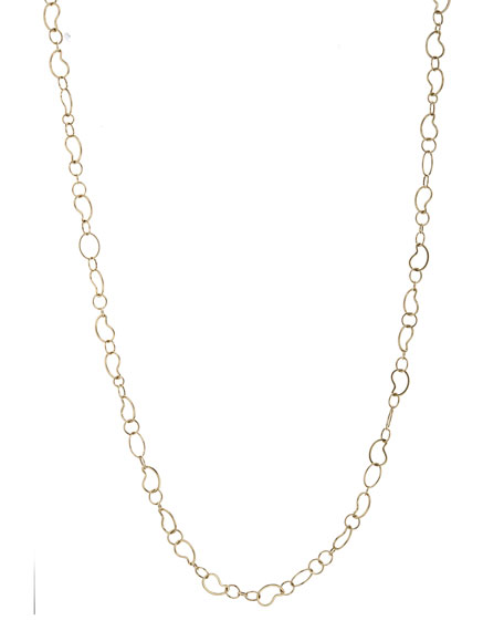 Ippolita 18k Classico Long Kidney Chain Necklace, 41
