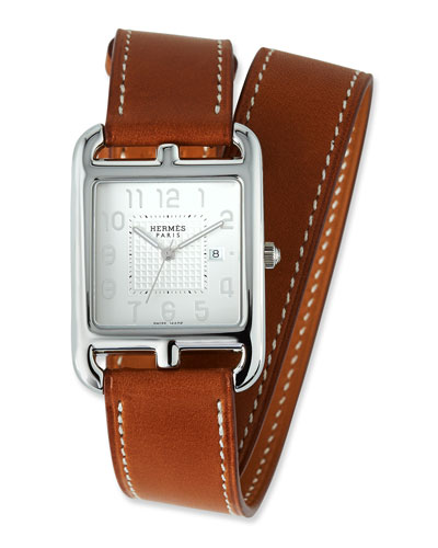Large Cape Cod GM Watch with Barenia Leather Strap