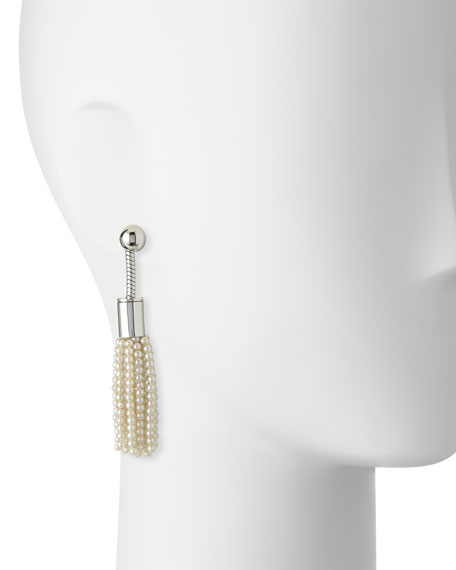 Weeping Willow Tassel Drop Earrings