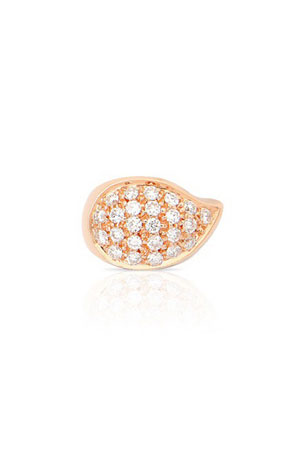 Tamara Comolli SIGNATURE DROP 18k Rose Gold Diamond Clasp