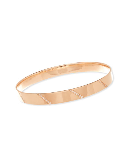 LANA 14K Rose Gold Vanity Expose Bangle with