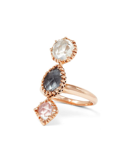 Sadie Three-Stone Ring