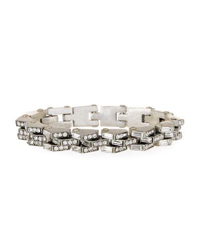 Satellite Crystal Link Bracelet