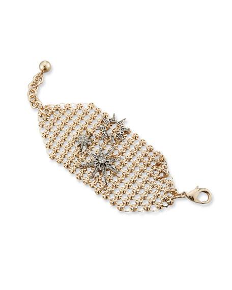 Lulu Frost Radiant Crystal Mesh Bracelet