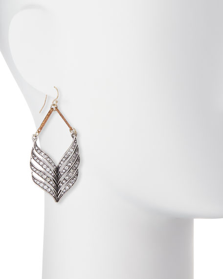 Symmetry Crystal Statement Earrings