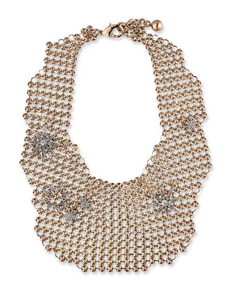 Lulu Frost Encore Radiant Mesh Necklace
