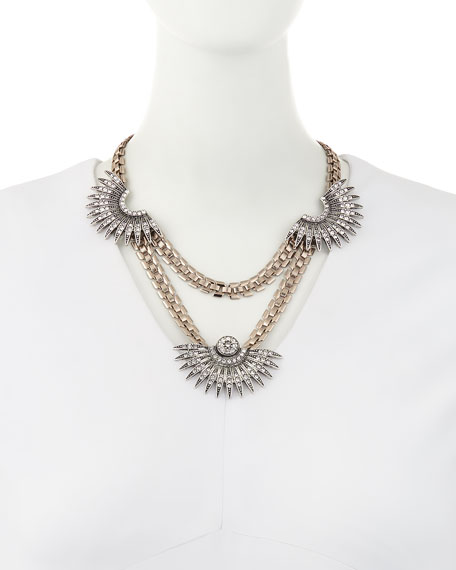 Beacon Crystal Statement Necklace