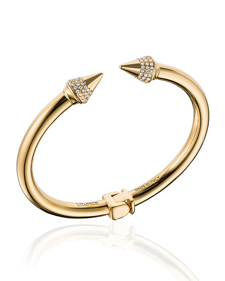 Vita Fede Mini Titan Crystal Cuff Bracelet