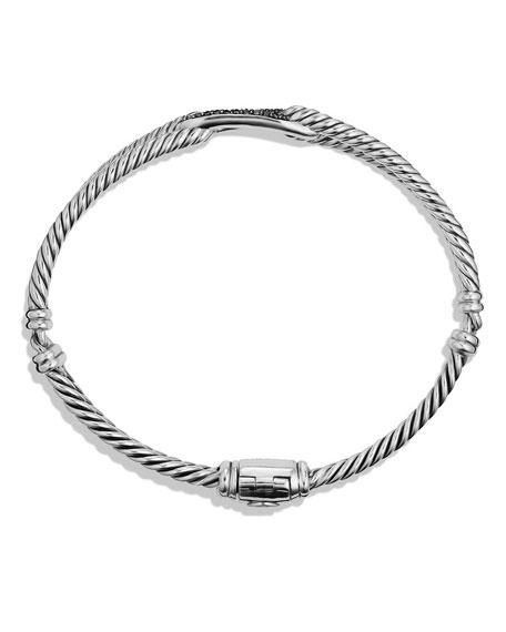 Black Diamond Loop Bracelet