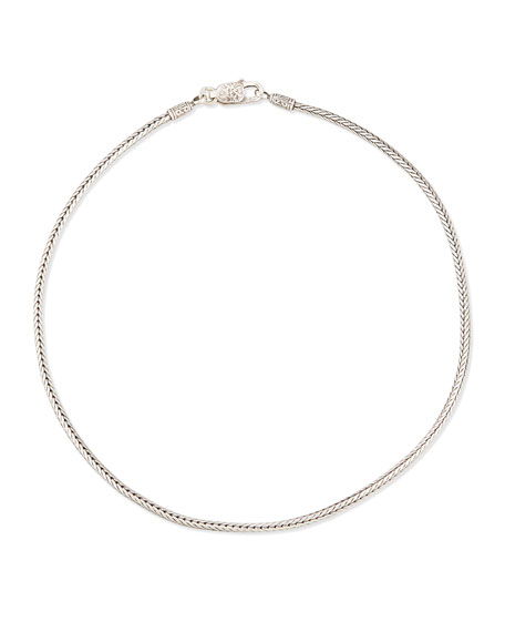 """Sterling Silver Wheat Chain, 18"""""""