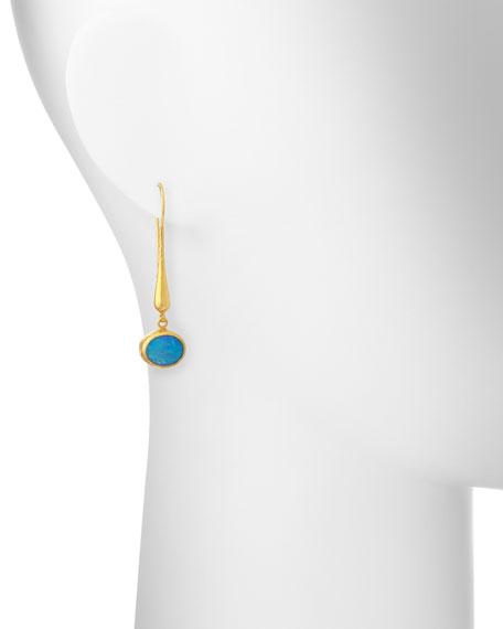 Amulet Hue Opal Drop Earrings