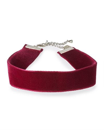 Aria Velvet Choker Necklace