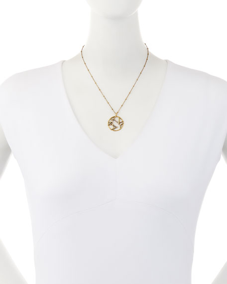 Astrological Sign Pendant Necklace