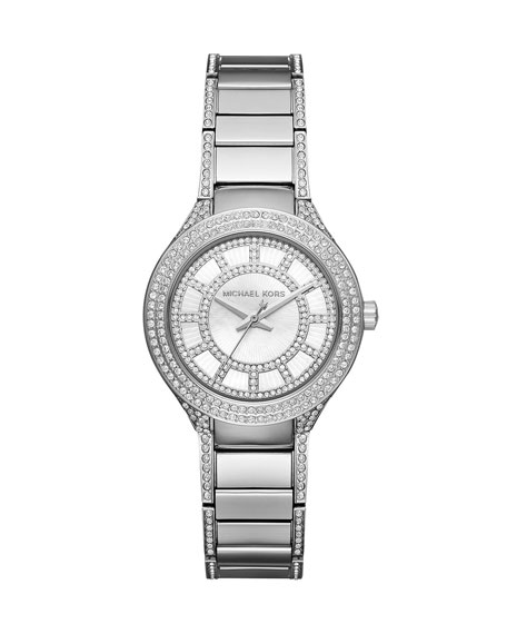 MICHAEL Michael Kors Mini Kerry 33mm Stainless Steel