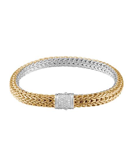 John Hardy Classic Chain Gold & Silver Medium