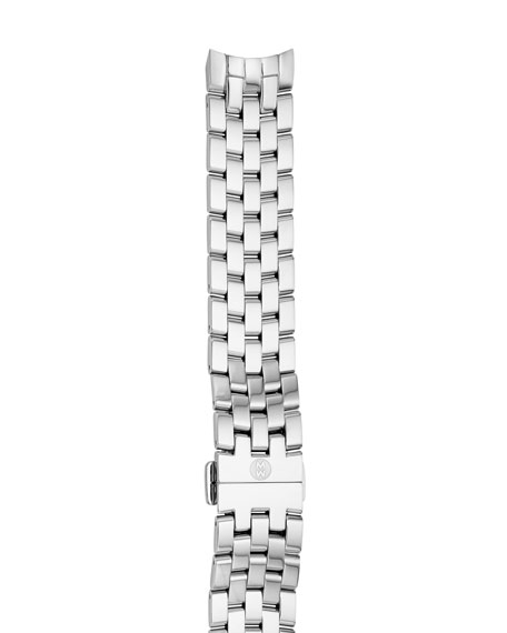 MICHELE Belmore 18mm Stainless Steel Bracelet Strap