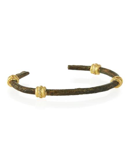 Sueno White Diamond Artifact Bracelet