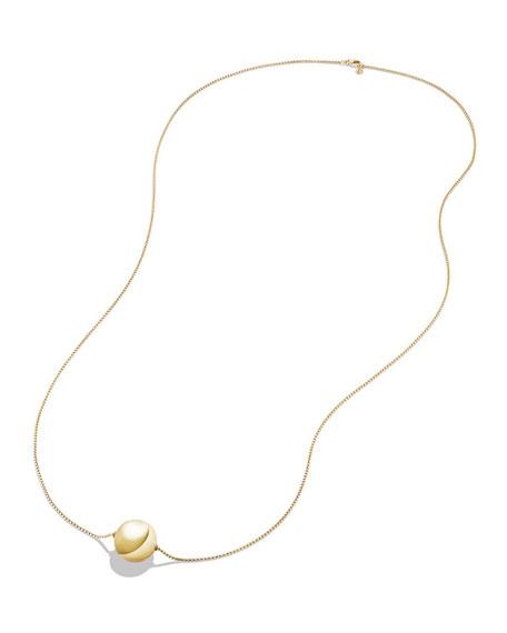 "Solari 18k 23mm Pendant Necklace w/ Pearls, 42"""