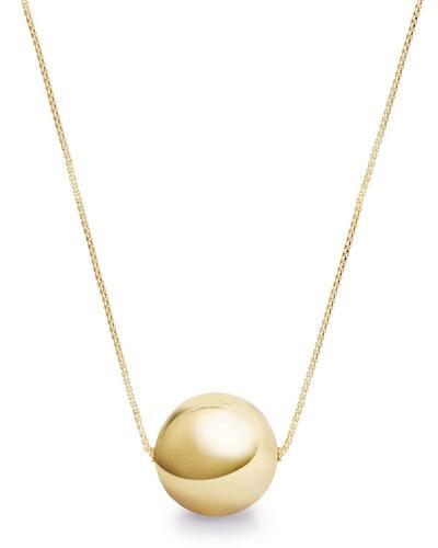Solari 18k 23mm Pendant Necklace w/ Pearls, 42