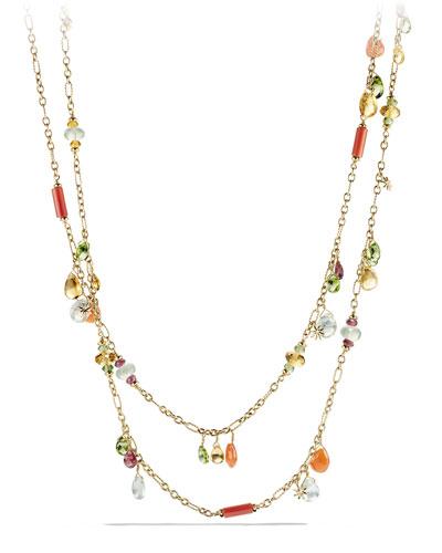 Bead Collection Briola 18k Dangle Necklace, 36
