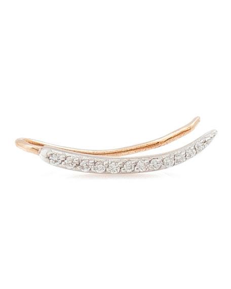 Lumiere White Diamond Ear Crawler