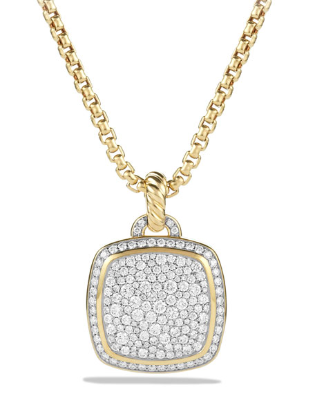 David Yurman 18k Albion?? Diamond Pav?? Pendant