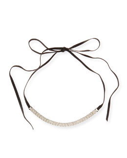 Armure Watch Strap Leather Choker Necklace