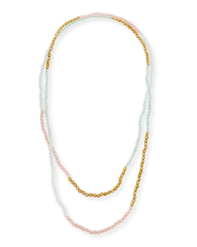 Jet Beaded Necklace, 31