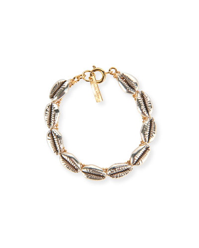 New Pool Cowry Shell Bracelet