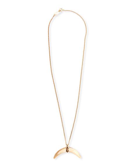 Etoile Isabel Marant Horn Pendant Necklace