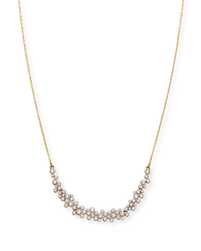 Provence 18k Diamond-Bezel Necklace